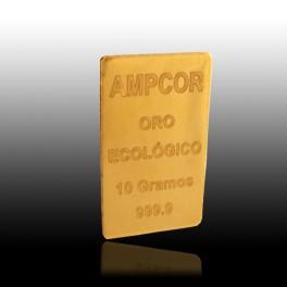 LINGOTE DE ORO ECOLÓGICO DE 10 grs.