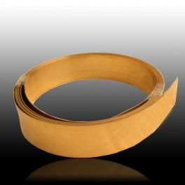 Chapa de oro amarillo 750