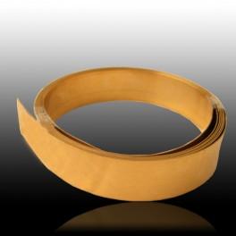 Chapa de oro amarillo 375